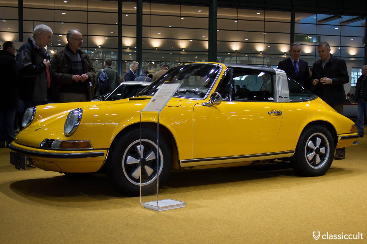 1972 Porsche Targa, Bremen Classic Motorshow 2013