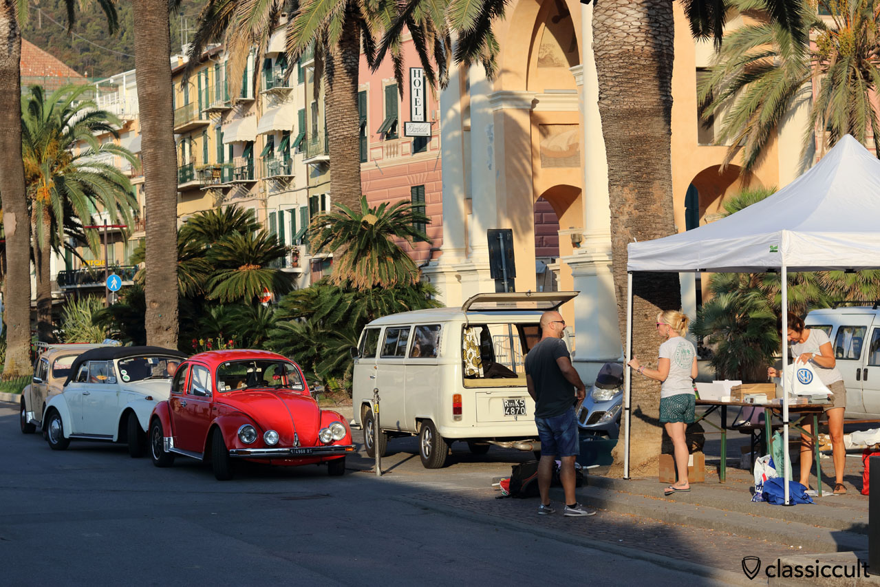Good Morning RiVWiera VW meeting #3, 8:26 a.m., September 10, 2016, Finale Ligure, Italy