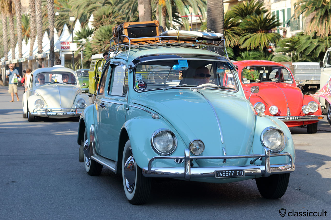 1966 VW Beetle Maggiolino with accessories