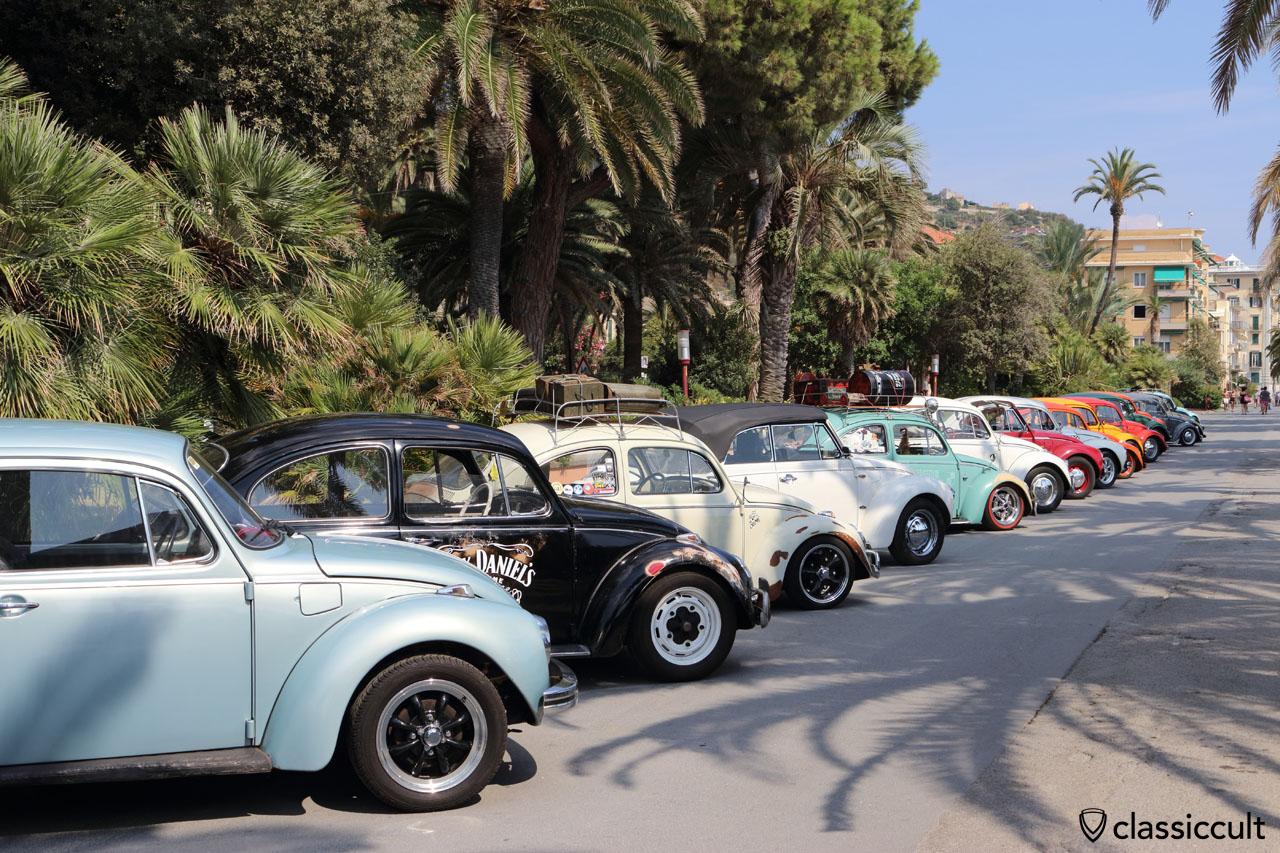 Maggiolino Line, RiVWiera Meeting 2016, Lenti e Contenti VW Club