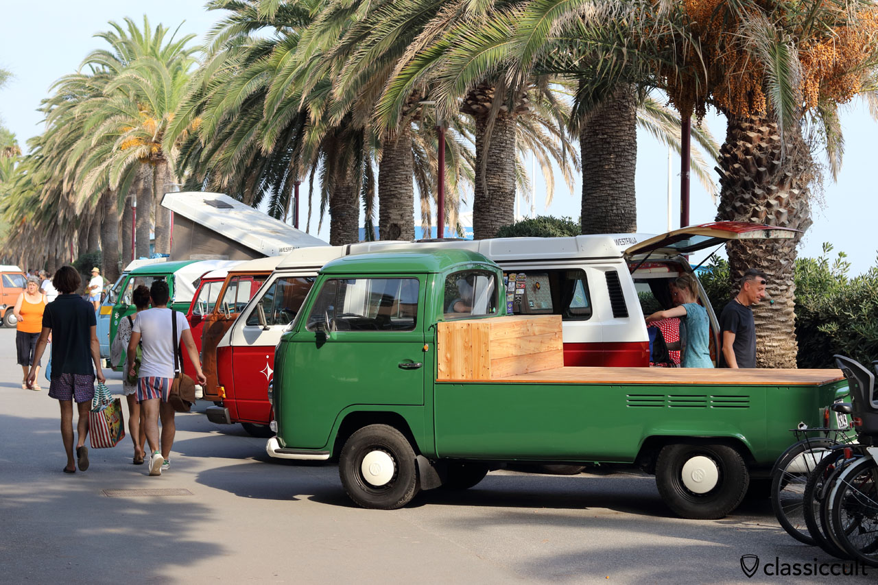 VW T2a pick up