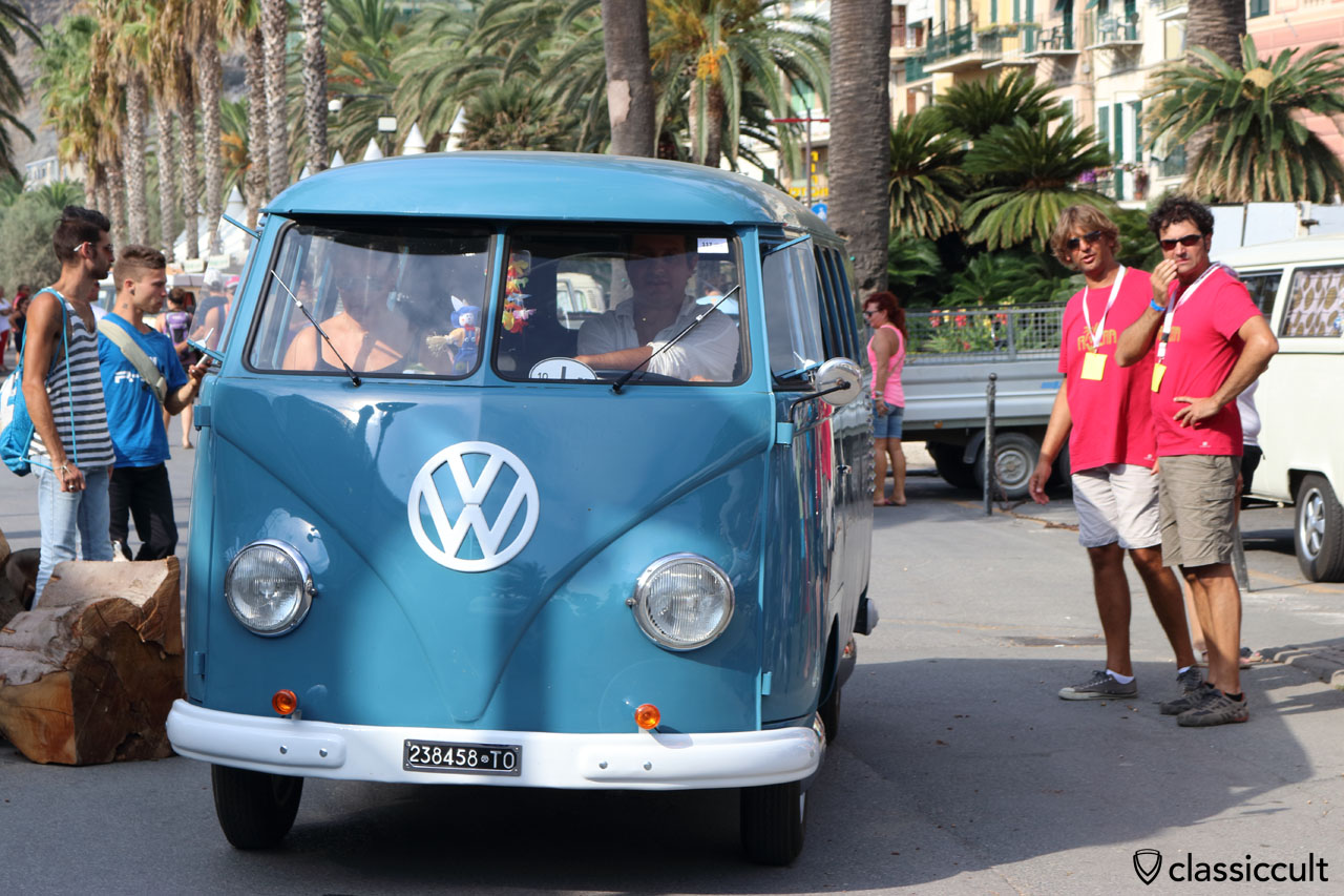 dove blue 1958 VW T1