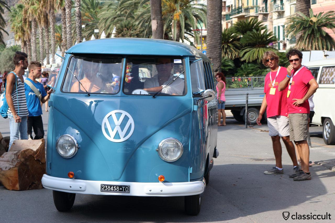 dove blue 1958 VW T1