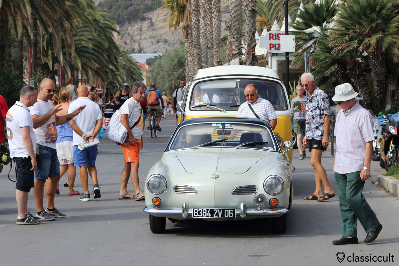 WOW, Karmann Ghia, Finale Ligure RiVWiera VW Meeting 2016