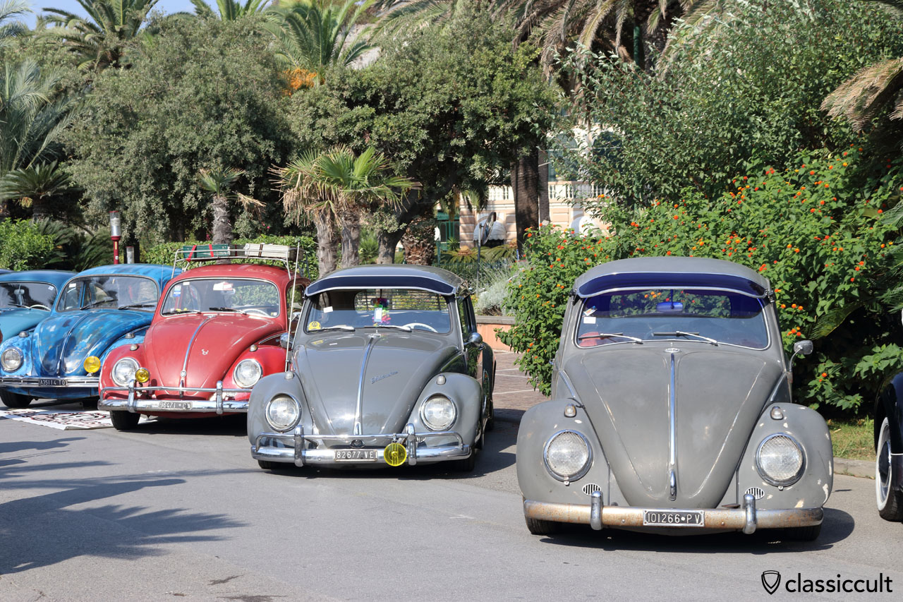 60ies VW Beetles with exterior sunvisor