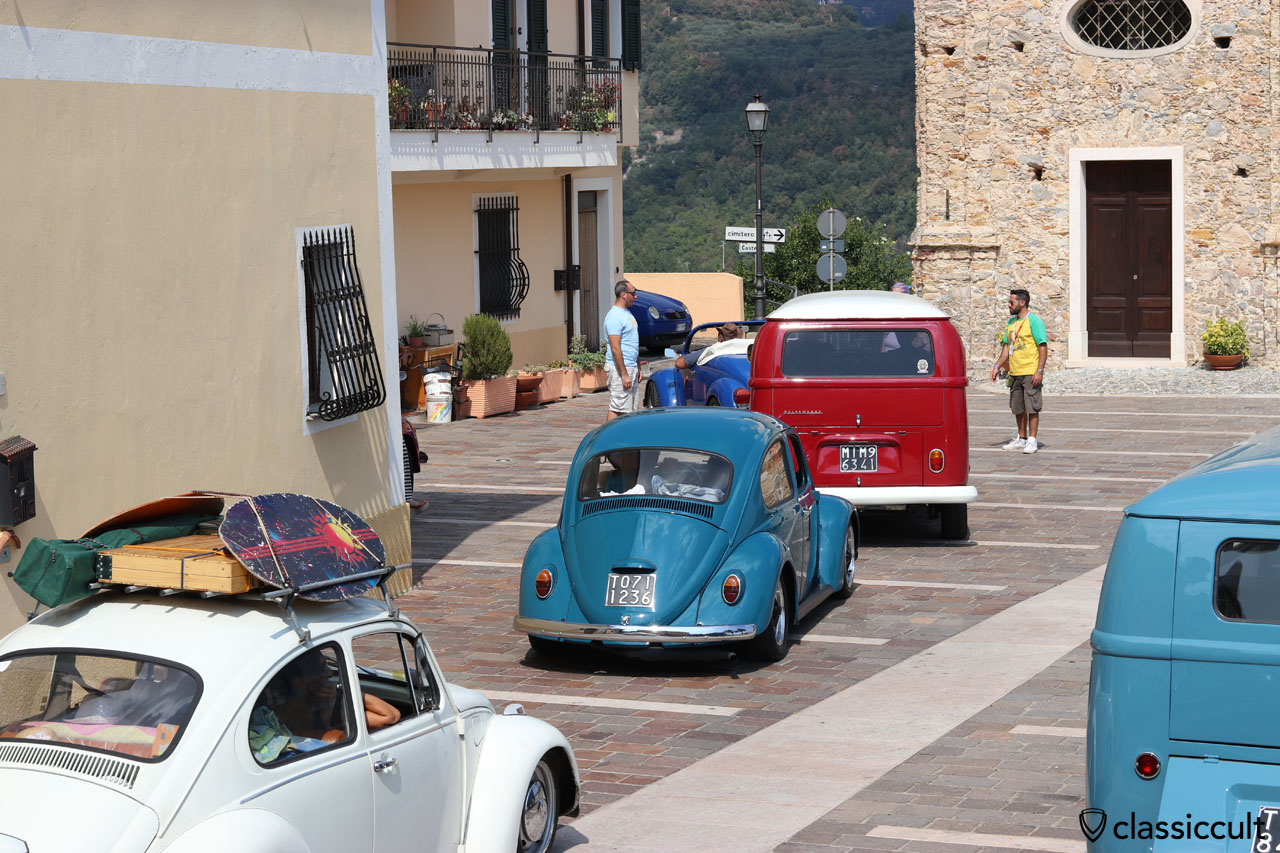 Aircooled Vokswagen, San Michele church, RiVWiera 2016, Italy