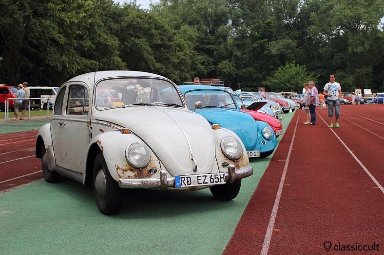 1965 Käfer mit Patina und Rost