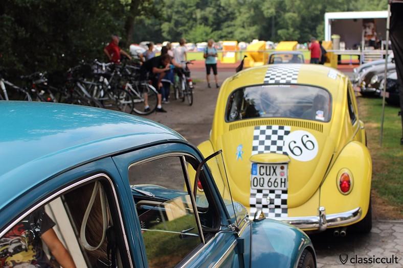 1966 VW Käfer in gelb