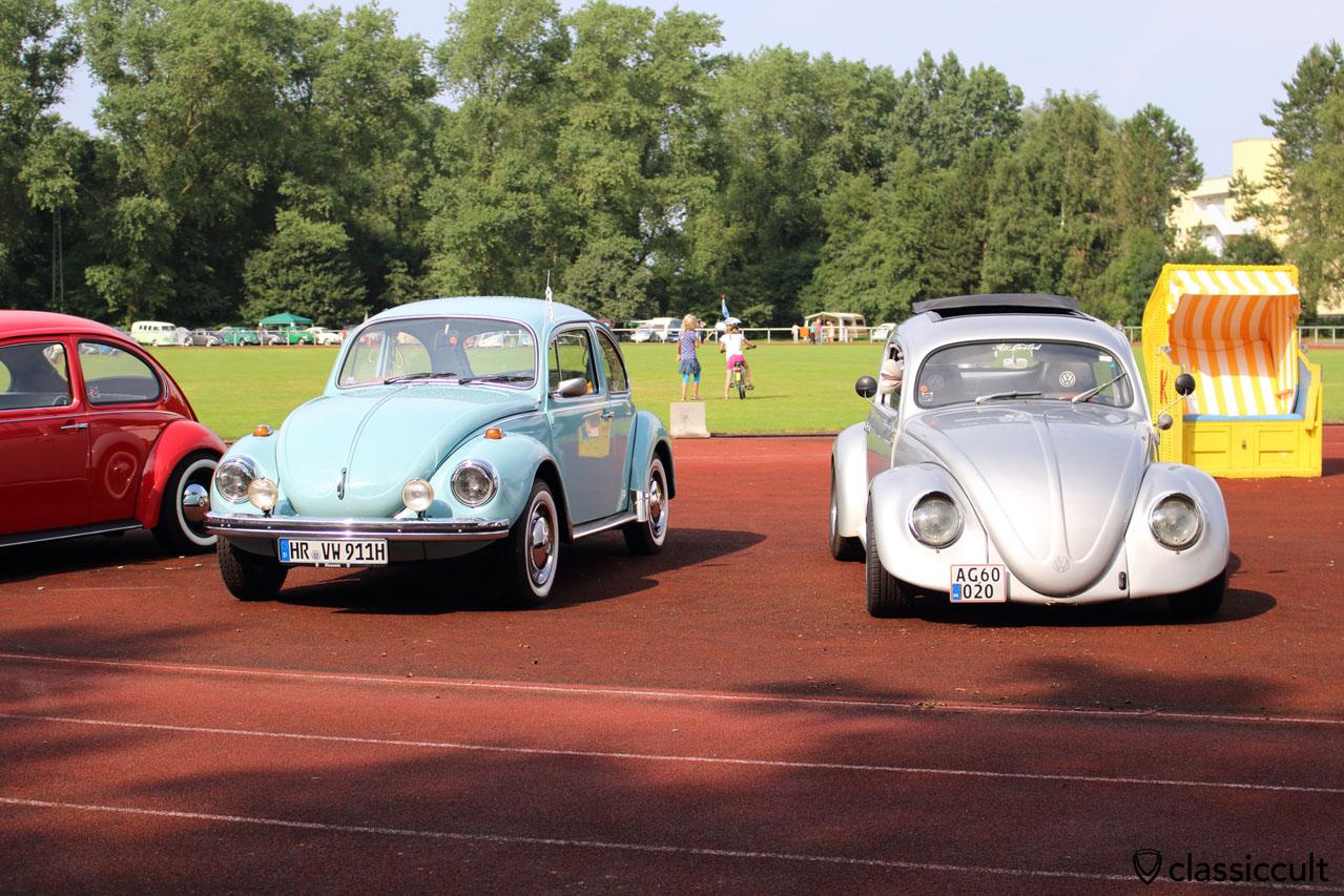 Run to the Sun VW Show mit Strandkorb