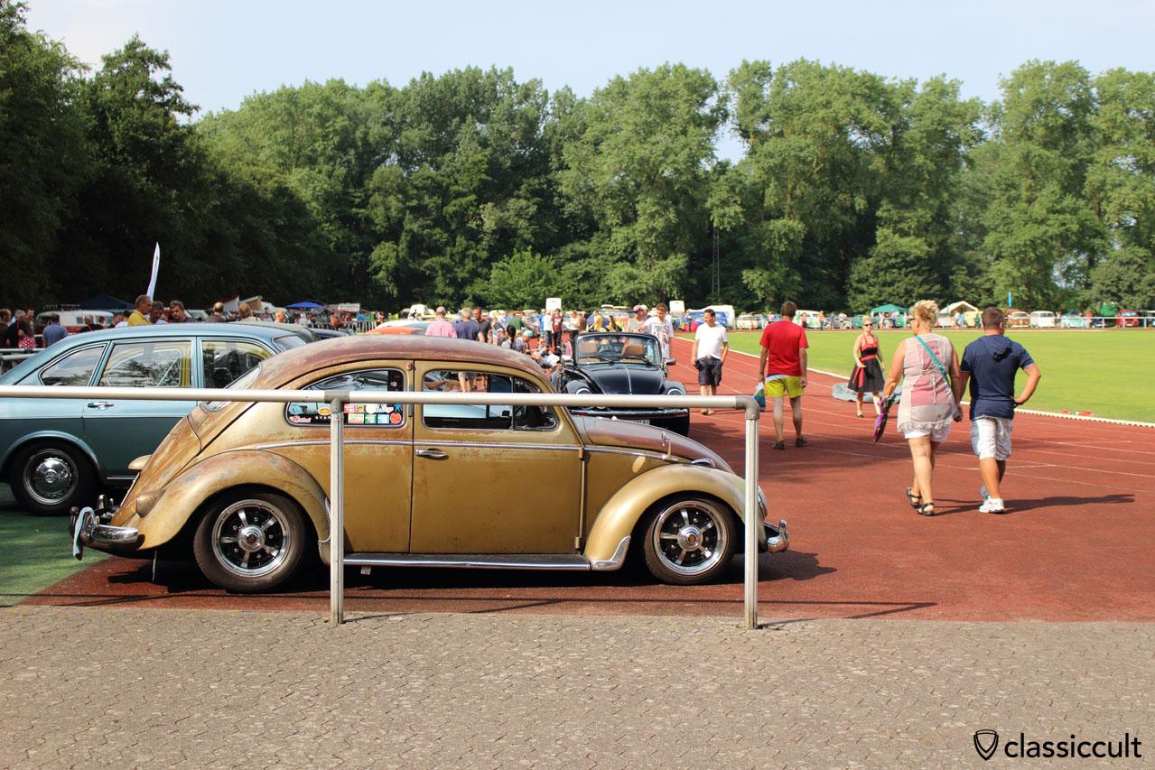 Rennbahn beim RTTS VW Treffen