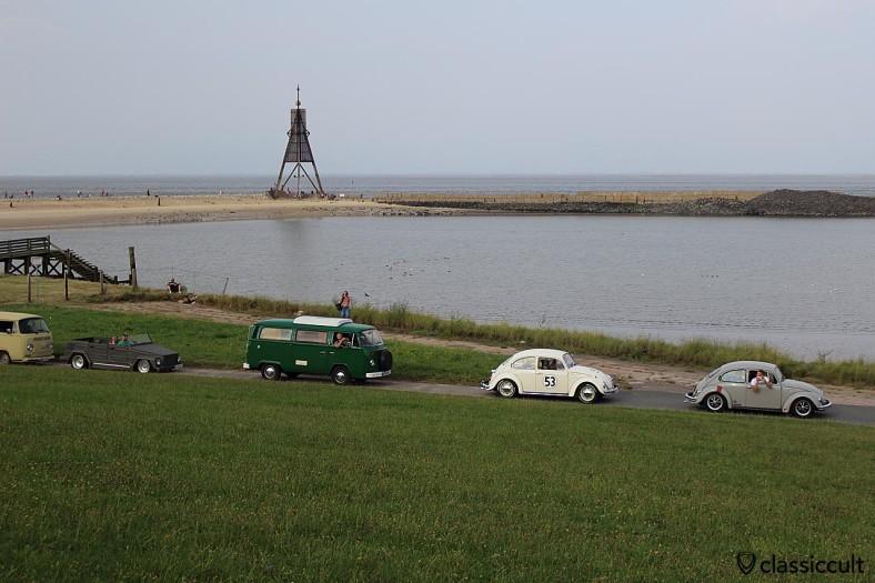 VW Konvoi Cuxhaven 2014