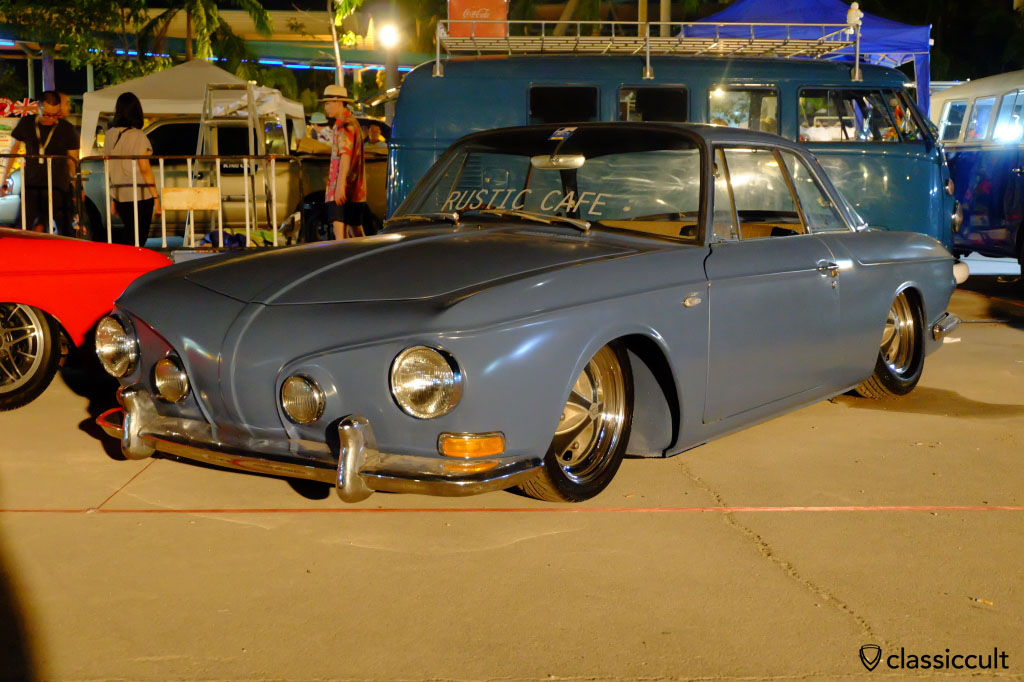 slammed Type 3, Siam VW Show 2015
