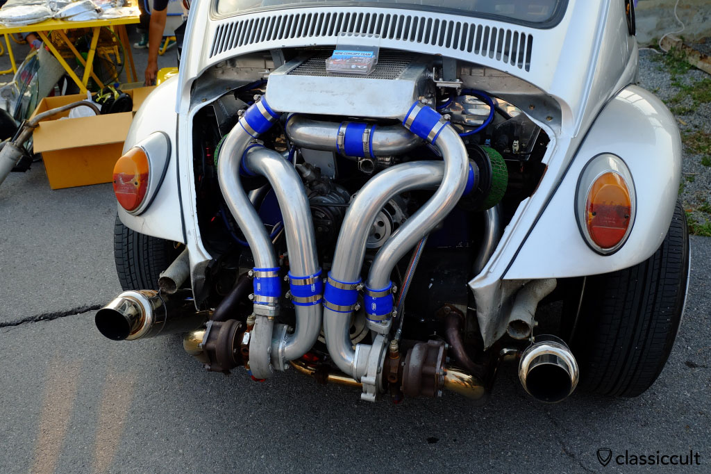 VW bug with power engine
