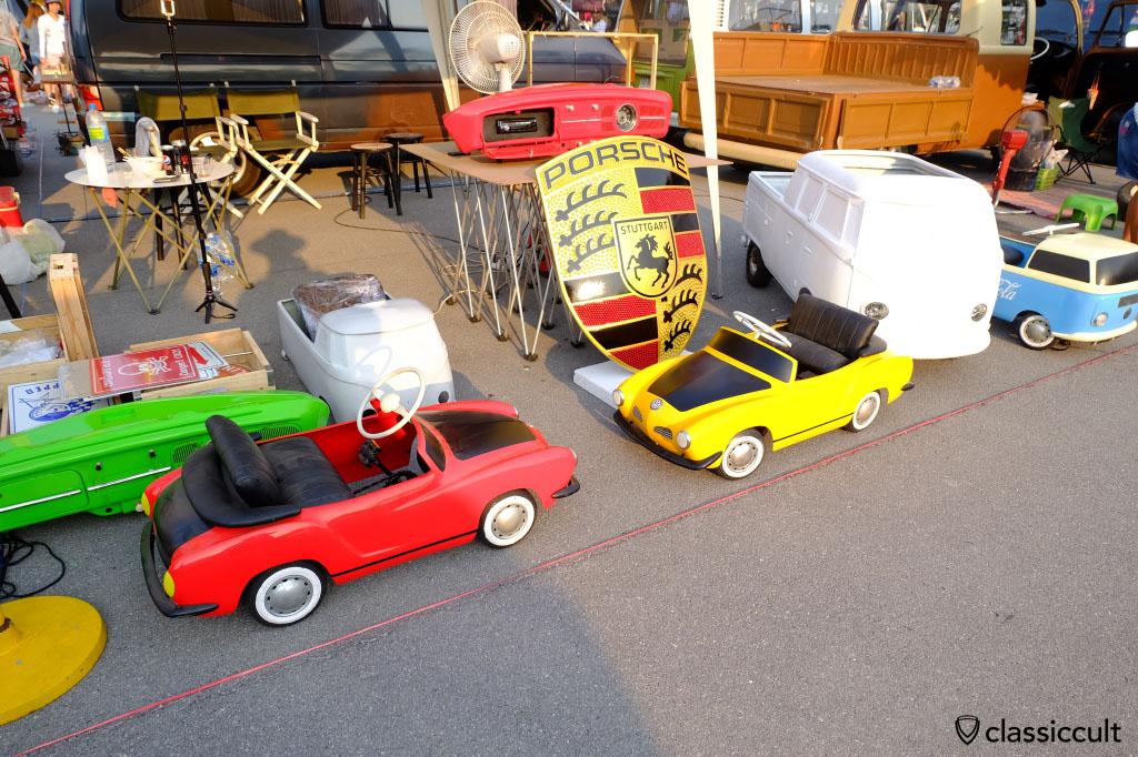 Karmann ghia kids car, very cool