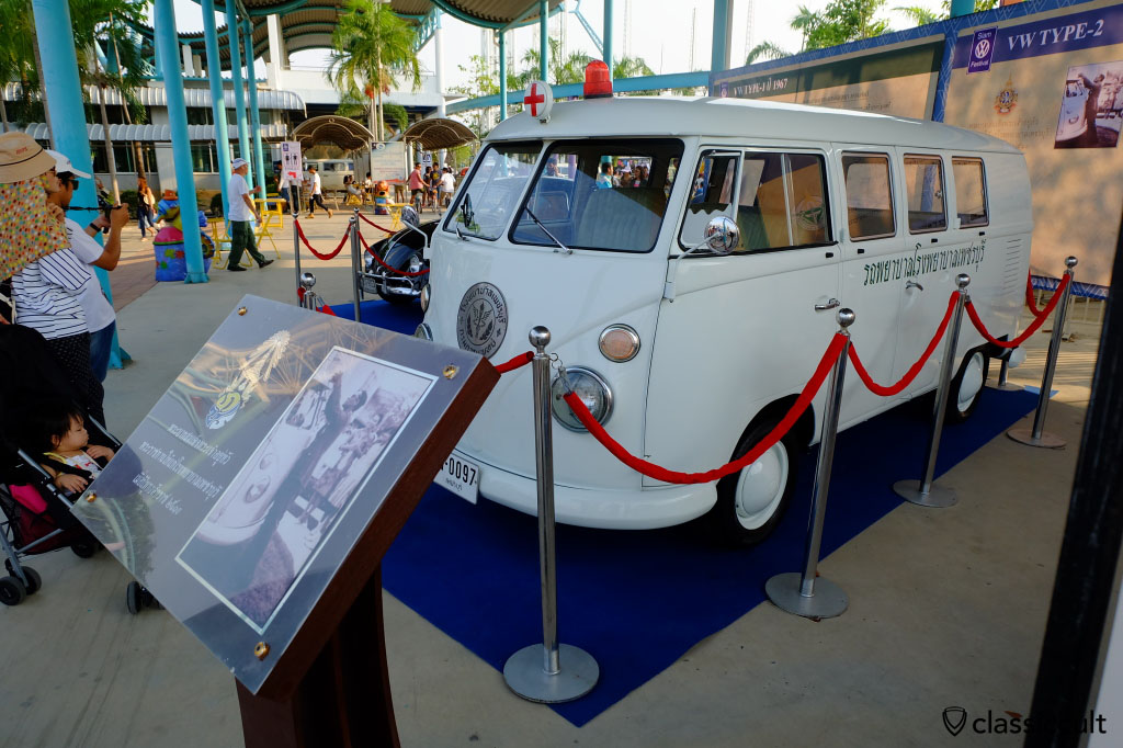 Volkswagen Split Bus of The King of Thailand