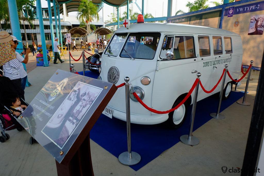 Volkswagen Split Bus of The King of Thailand