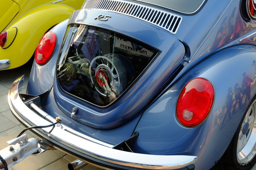 vw beetle decklid with window