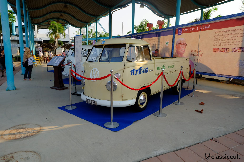Volkswagen Buses of The King of Thailand,  Siam VW Show 2015