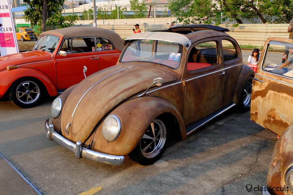 Patina Ragtop VW Beetle