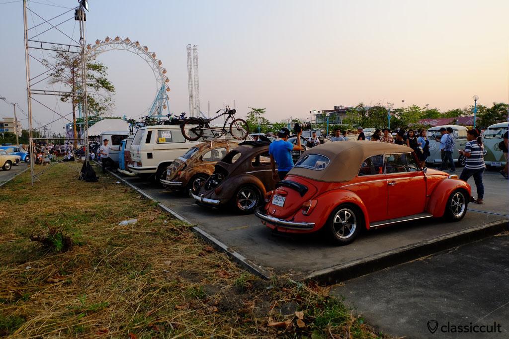 Siam Volkswagen Show 2015, Wonder World Fun Park, Bangkok Thailand