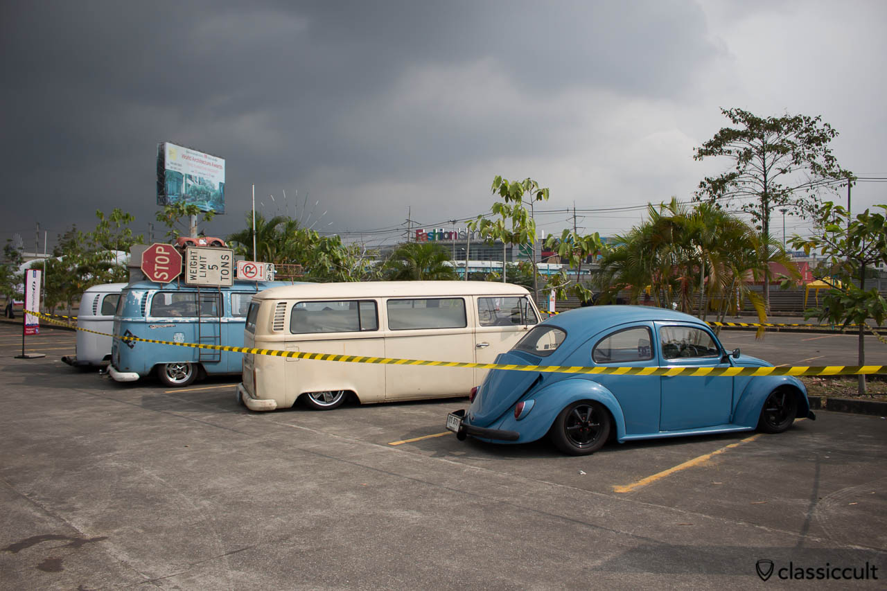 slammed Early Bays at Siam VW Festival 2014 (rear side)