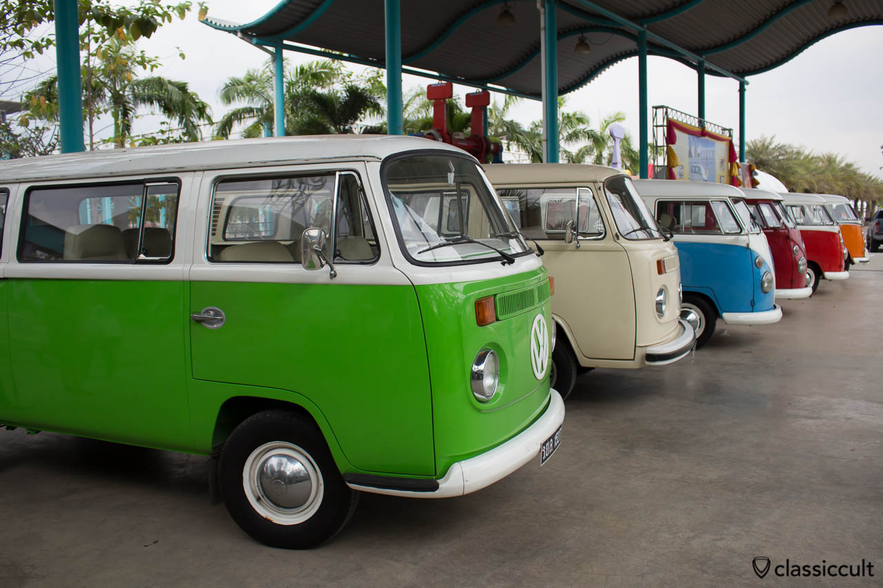 VW buses of The King of Thailand