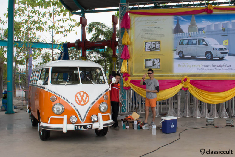 Siam VW Show 2014, King of Thailand Bus