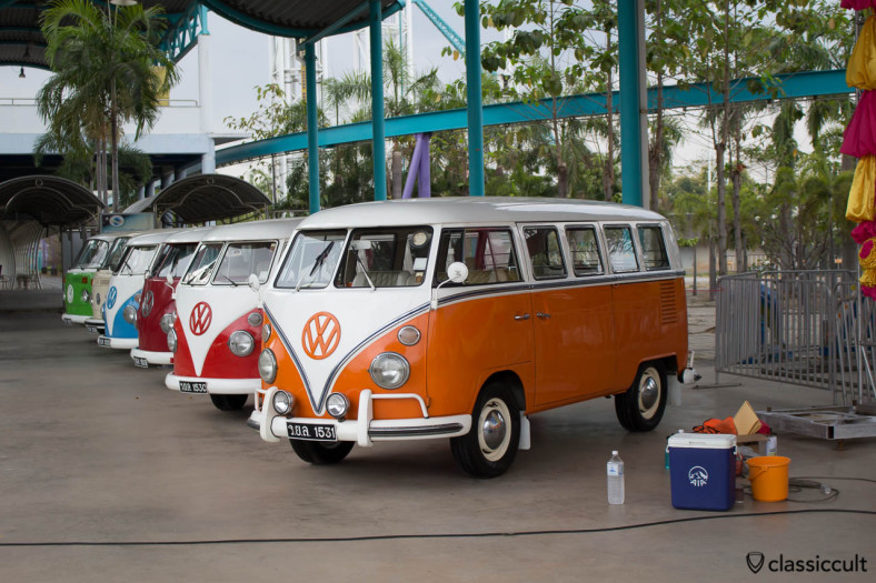 Siam VW Festival 2014, Volkswagen Buses of The King of Thailand