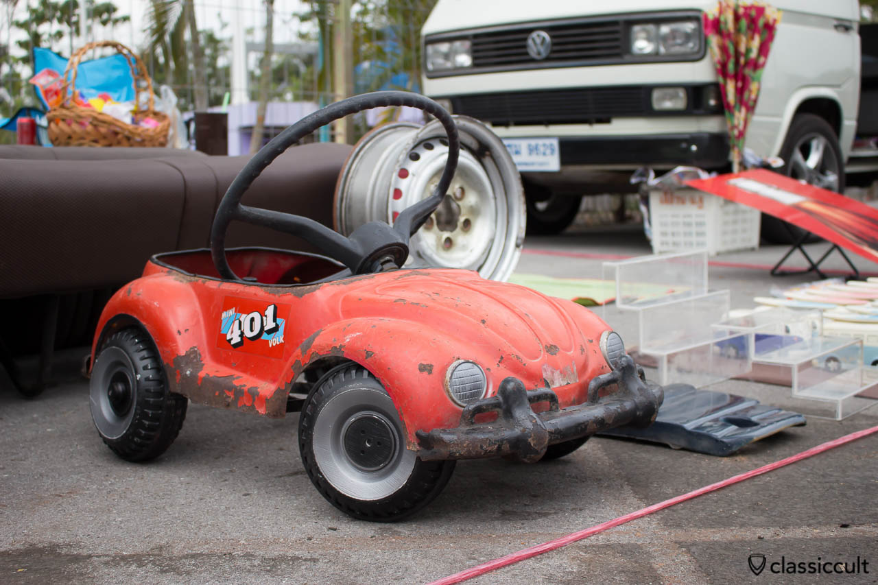 VW Bug Toy Car for Kids