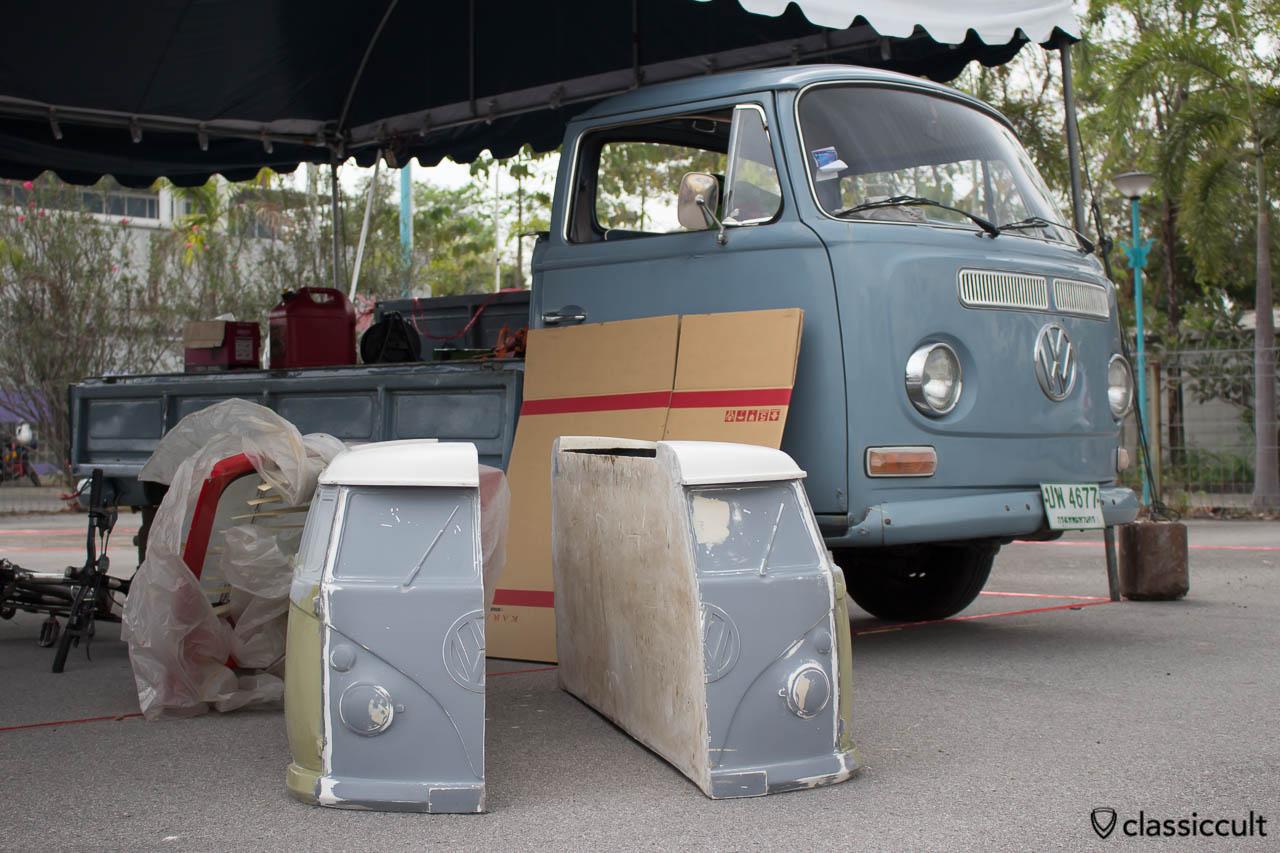 VW T1 Samba Bus for Kids press pattern