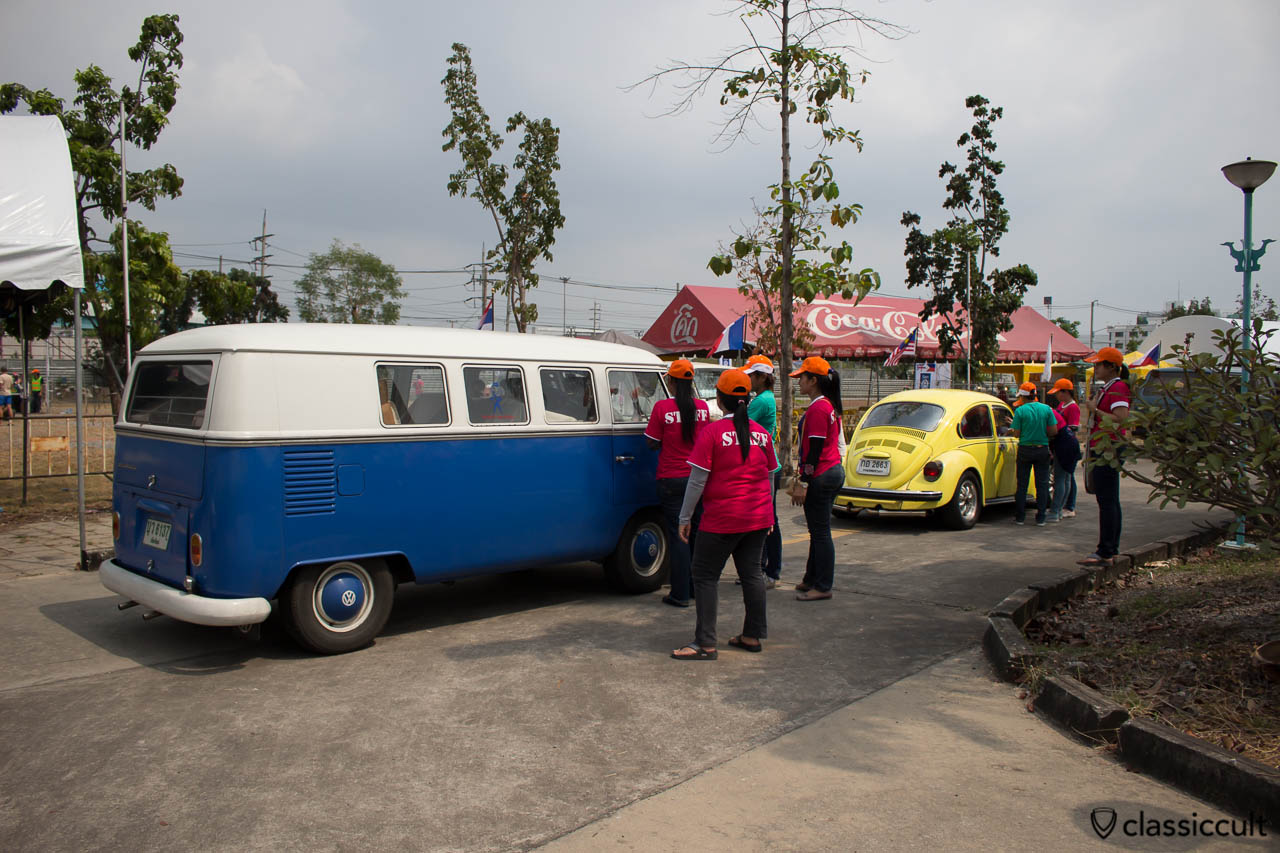 Bus and Bug at entrance