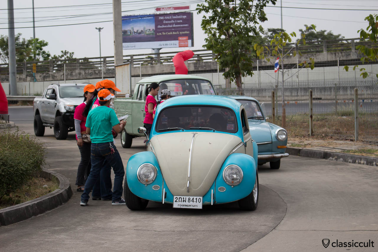 VW Bug with billet Bumper