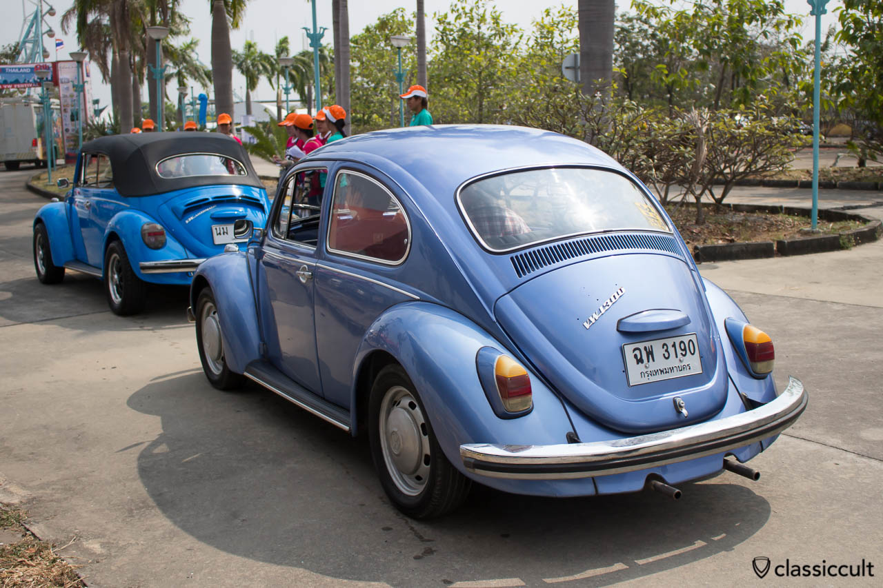 blue VW 1300