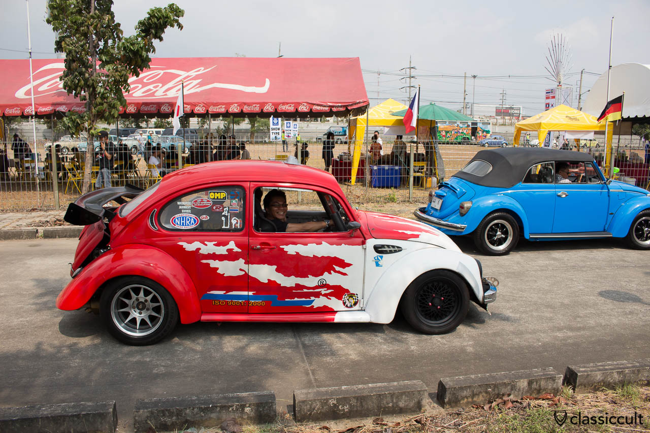 Thai Drag Racing VW Beetle, side view