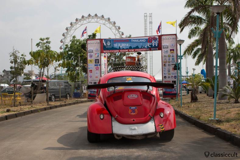 Thai Drag Racing VW Beetle, rear side