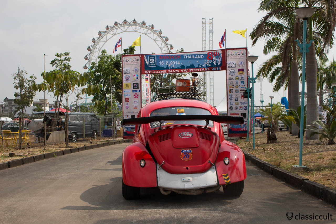 Thai Drag Racing VW Beetle, rear side