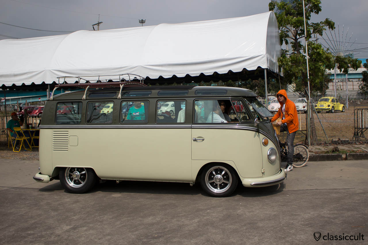 VW T1 Samba Bus with sprint stars, nice, clean, over restored