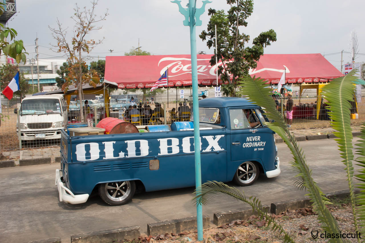 OLDBOX GARAGE VW Split Pick Up Bus side view