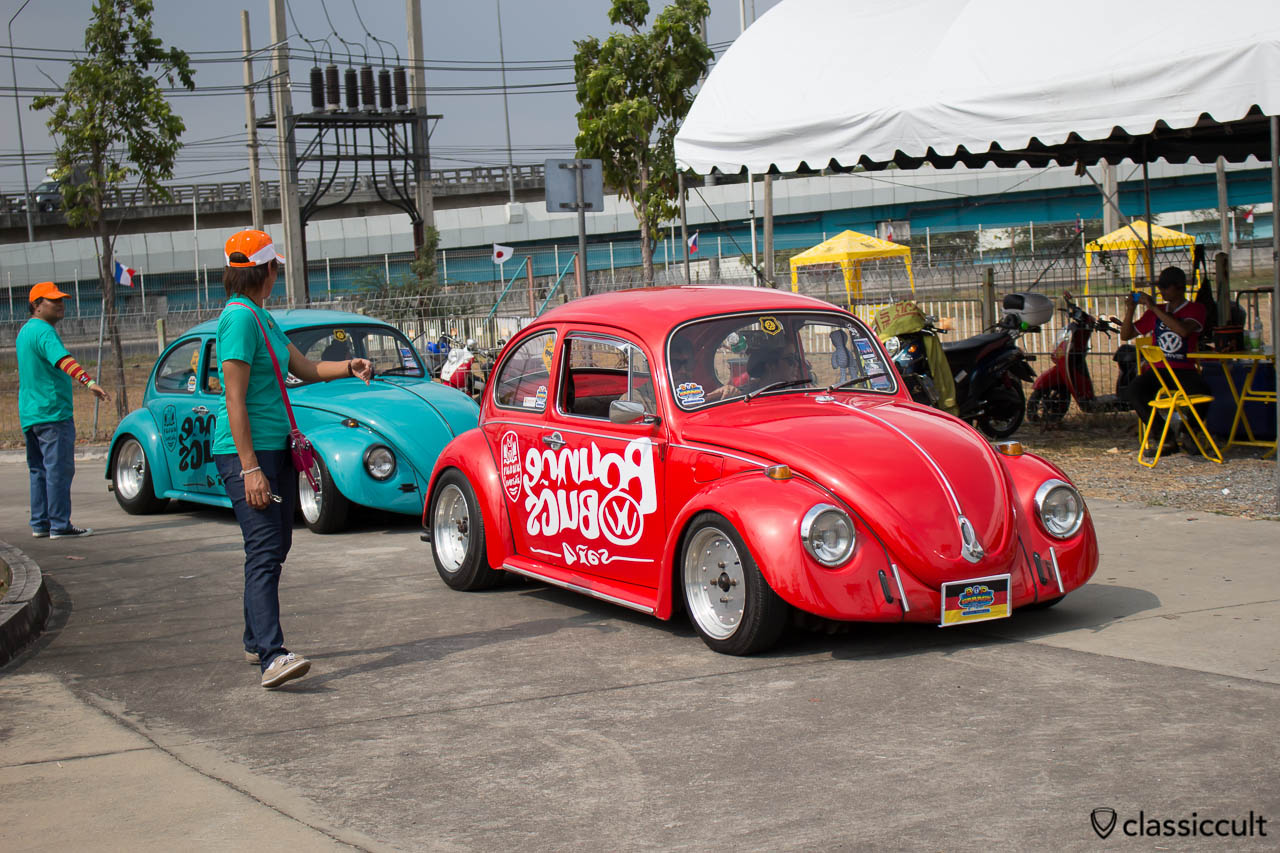 red VW Bounce Beetle