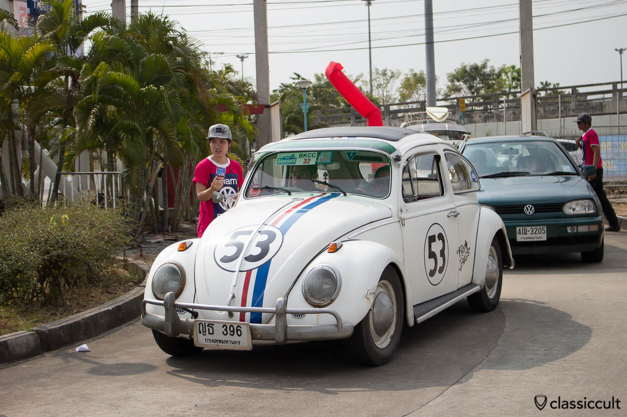 VW Herbie 53 ragtop bug