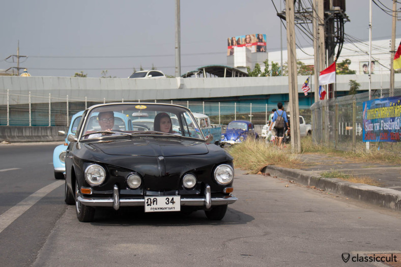 very nice VW Karmann-Ghia Typ 34 in black