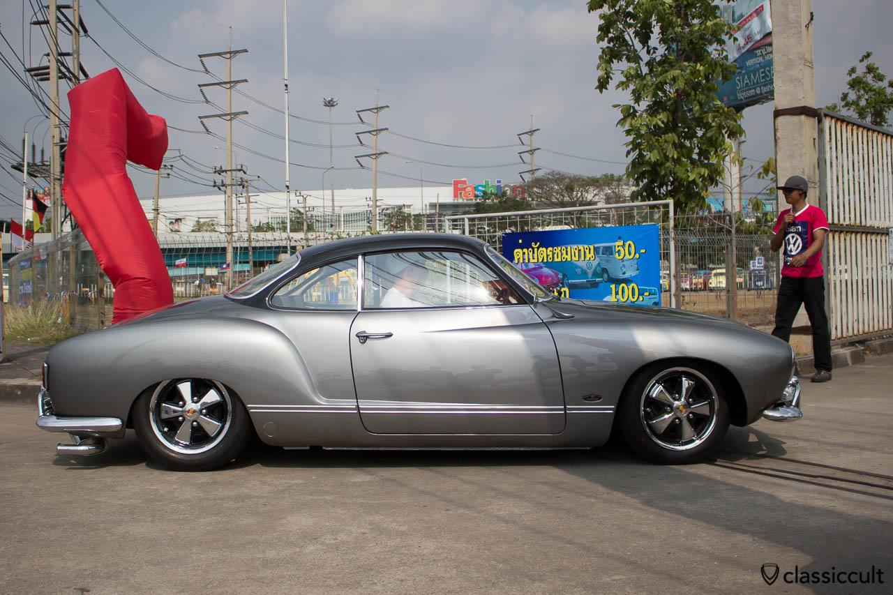 1957 VW Karmann-Ghia Typ 14 side view