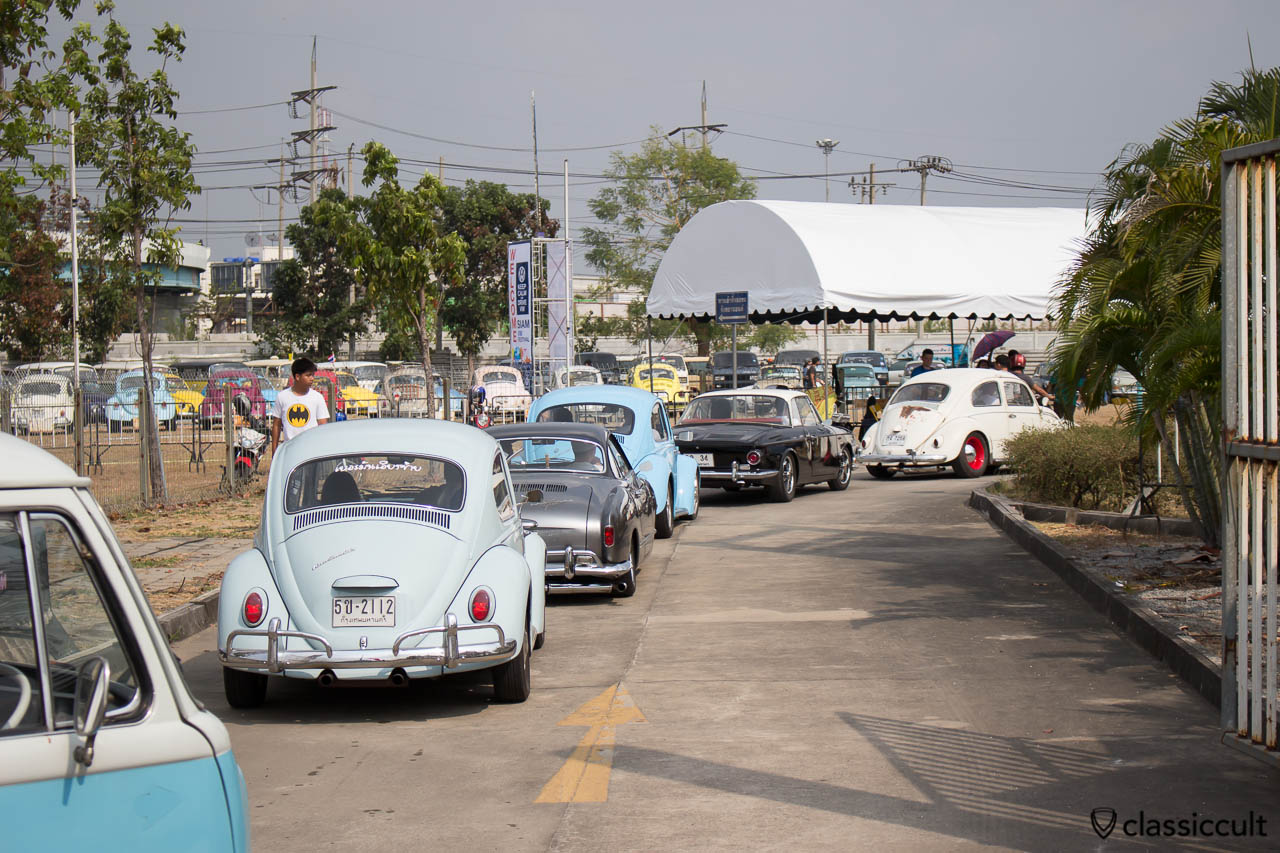 Volkswagen driving to Siam VW Festival 2014