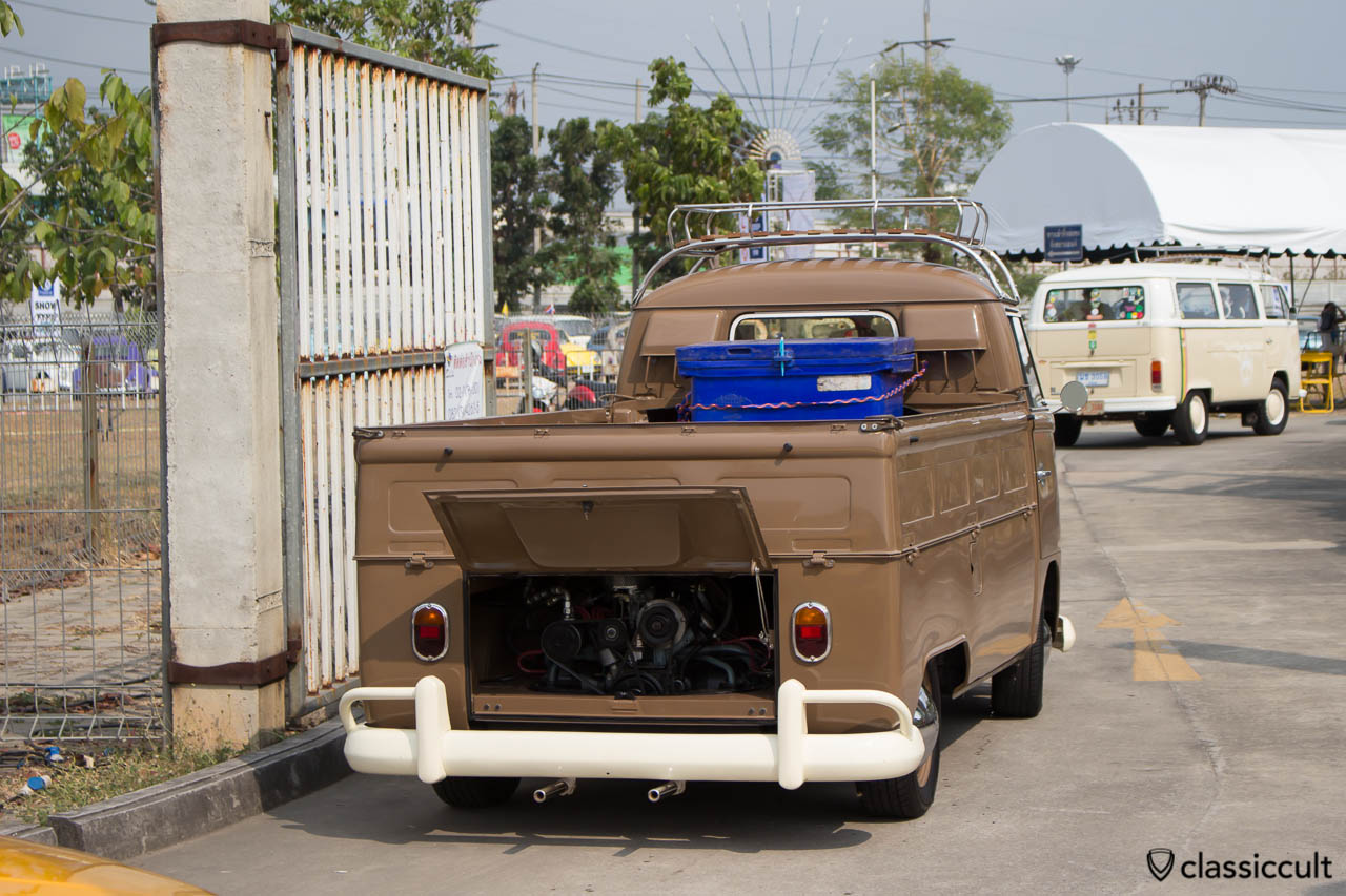 Split Pick Up VW back