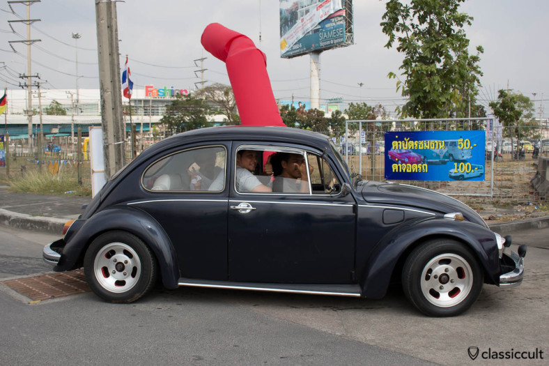 Thai in VW Bug