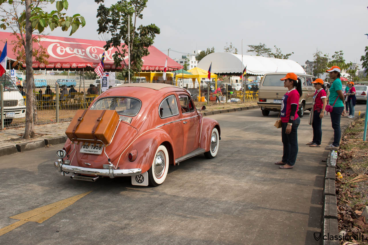 1958 VW Beetle with rare accessories