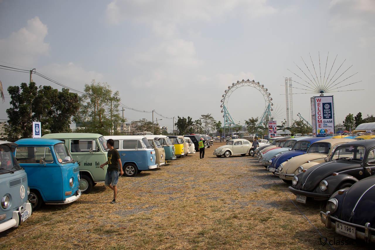 Siam VW event terrain at The Wonder World Fun Park.