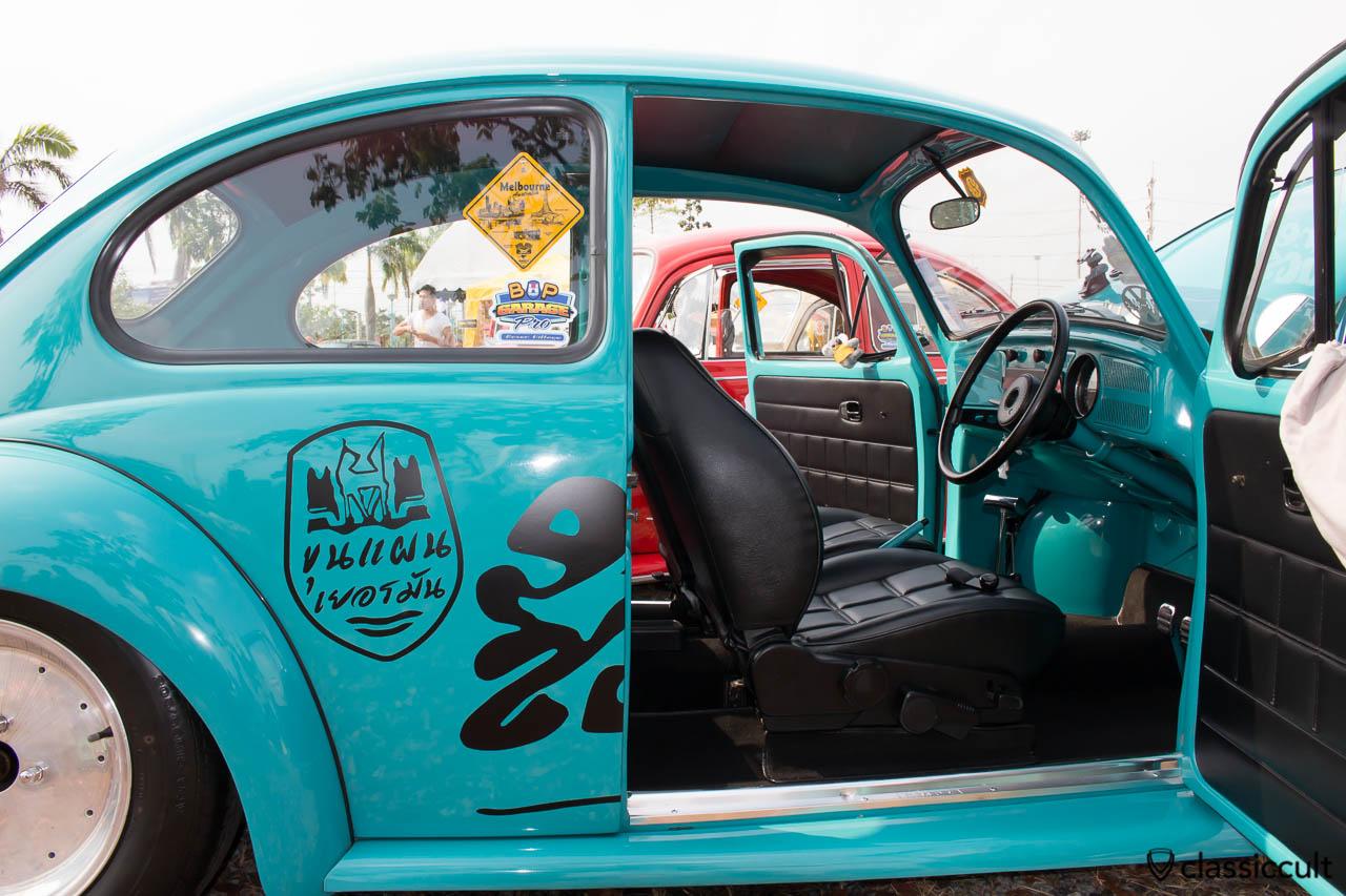 Bounce Bug interior at Siam VW Festival