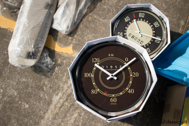 VW Split Speedometer wall clock. Made in Thailand :-)