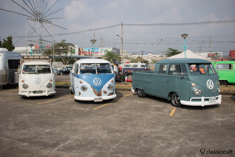 Type 2 Pick-Up line at Siam VW Festival 2014